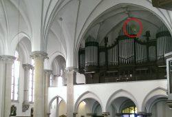 Entlüftungsfenster in Kirche